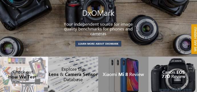 DxOMark:权威相机画质评测