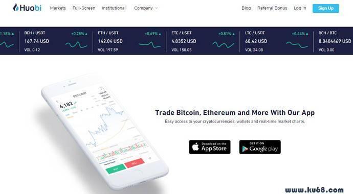 火币网:火币Pro,比特币交易平台