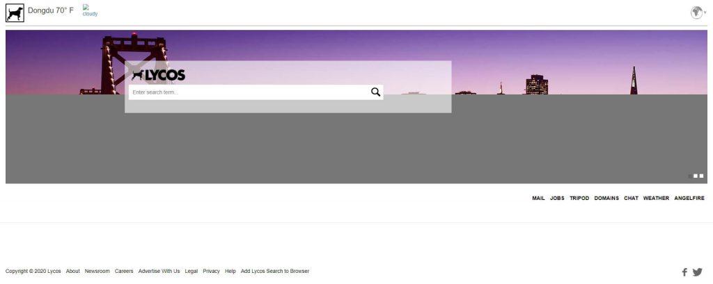 Lycos:西班牙搜索引擎服务网站