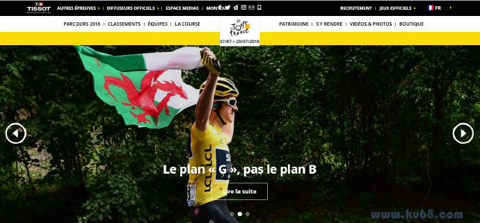 letour.fr:环法自行车赛官方网站