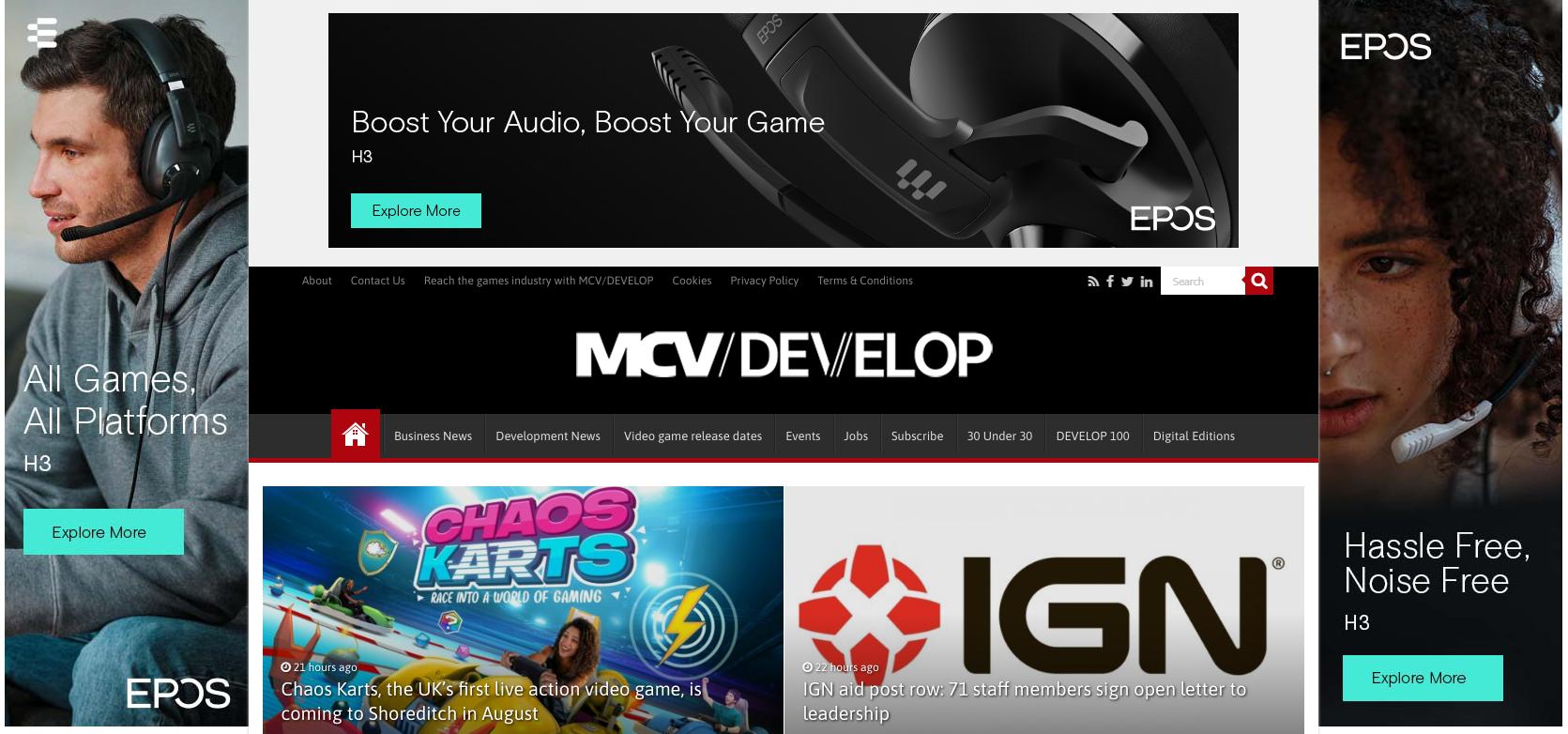 Develop-Online官网 MCV/DEVELOP