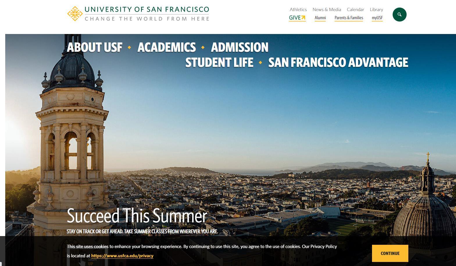 旧金山大学官网 University of San Francisco
