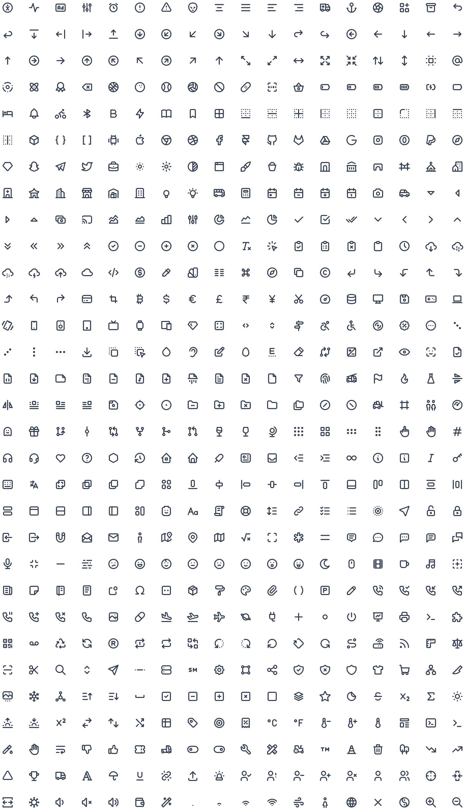 TablerIcons – 可高度定制的免费 SVG 图标库