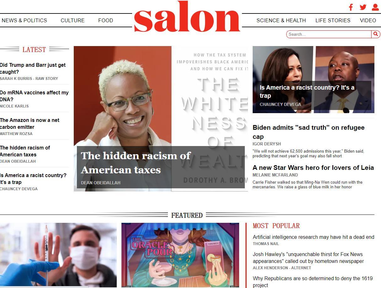美国SaLon沙龙网络杂志官网