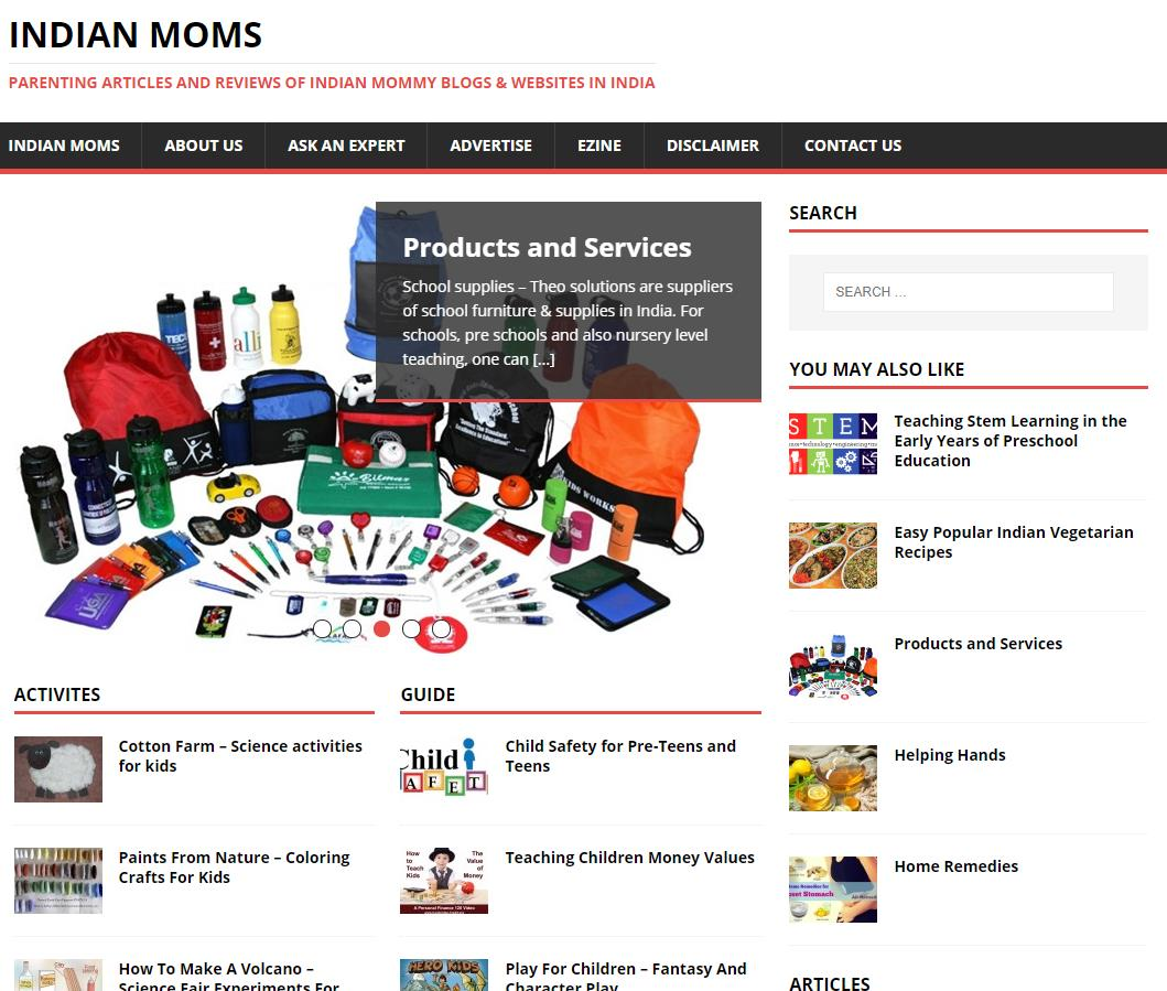 Indian Moms官网 Detailed Parenting Information