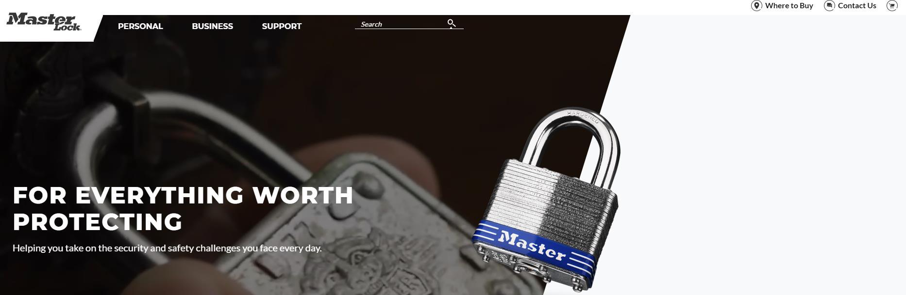 玛斯特锁具(MasterLock)官网 玛斯特锁具官方旗舰店