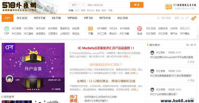 518外汇网:专业炒外汇EA黄金交易平台