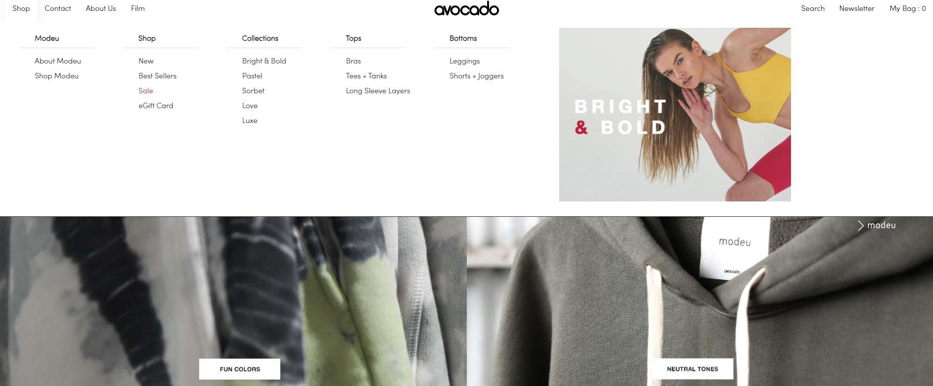 Avocado官网 Avocado官方旗舰店 美国运动服饰品牌