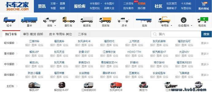 卡车之家:中国卡车门户,商用车互动服务平台