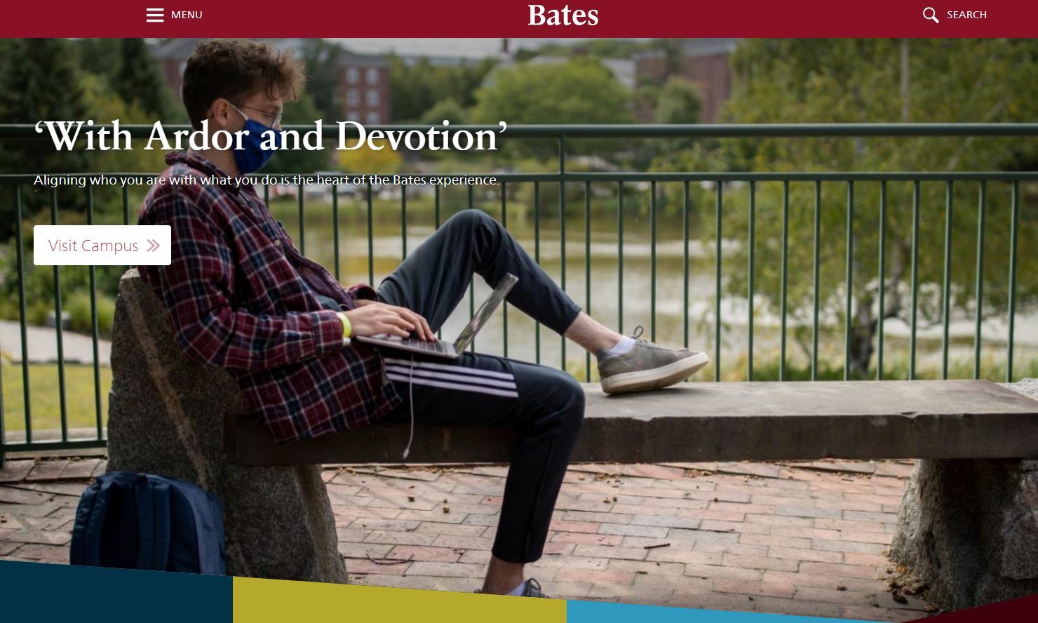 贝兹学院(Bates)官网 美国私立学院