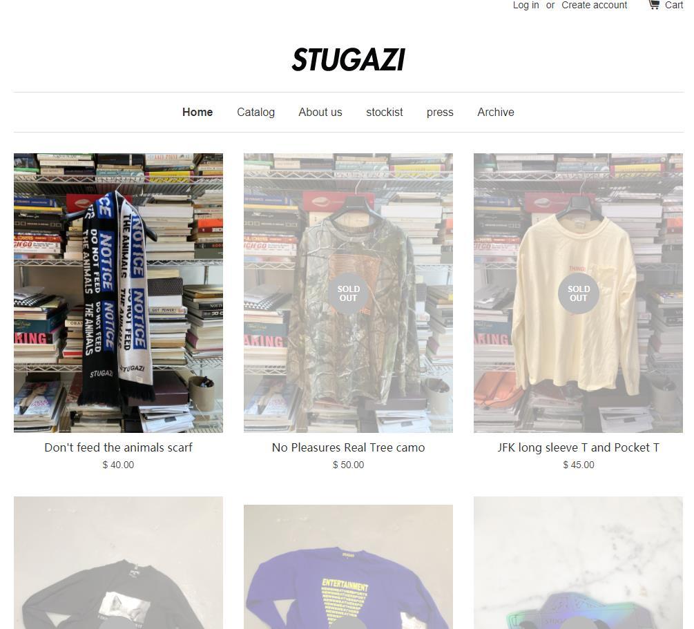 STUGAZI官网 STUGAZI官方旗舰店