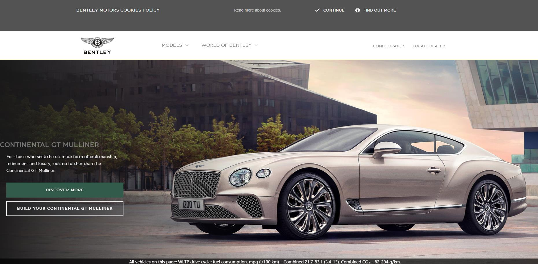 宾利汽车(Bentley)官网 英国克鲁的奢华汽车品牌名企