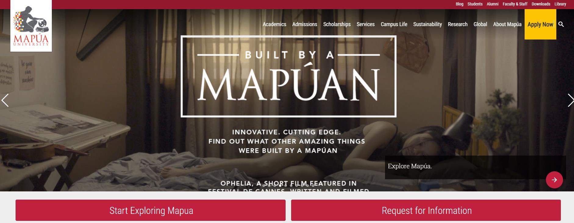 玛布亚科技学院官网 Mapua菲律宾私立学院