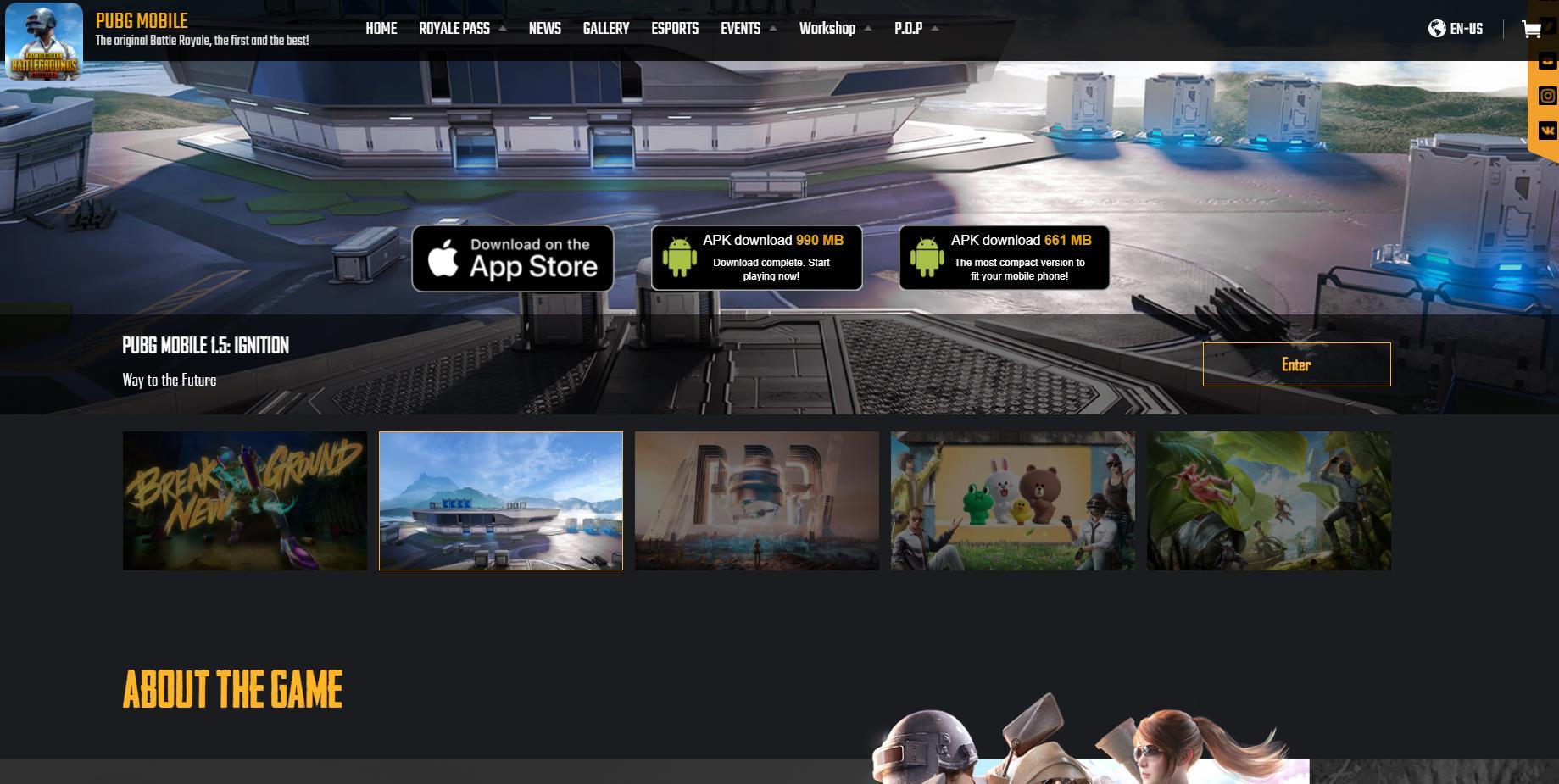 PUBG MOBILE官网 《绝地求生》手机版游戏