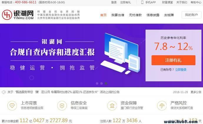 银湖网:快捷、透明的金融理财平台