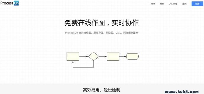 ProcessOn:免费在线实时协作作图