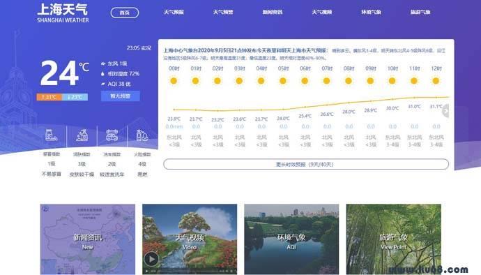 上海天气网:上海天气预报、旅游气象、气象资讯