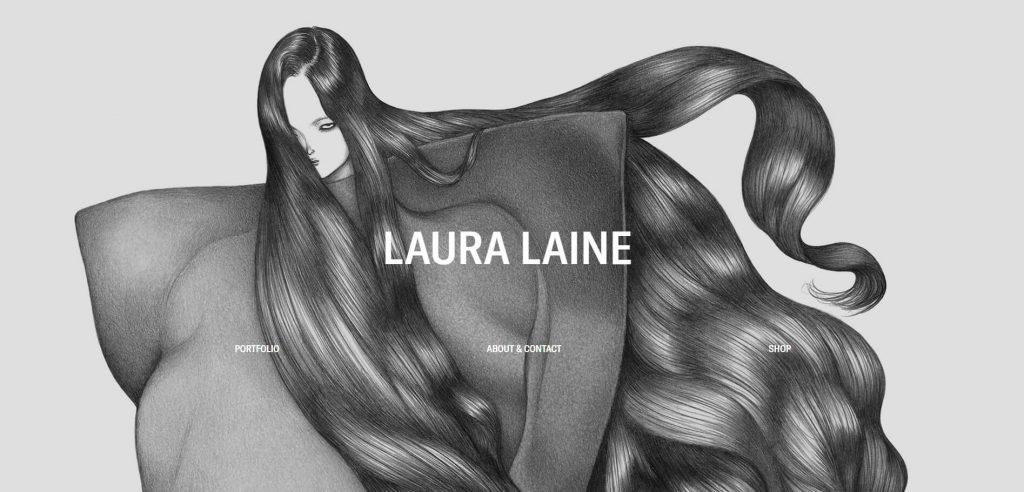 Lauralaine:芬兰时尚服装插画欣赏