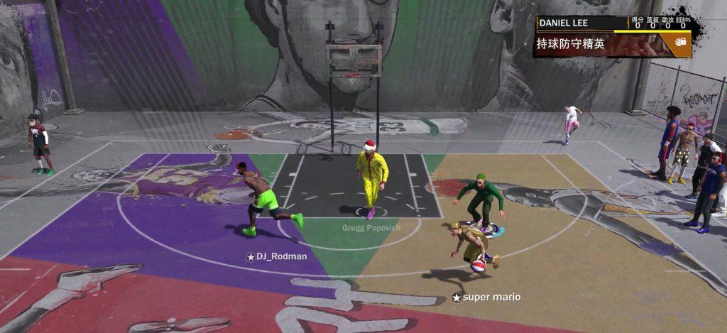 NBA2K18:体育运动篮球游戏