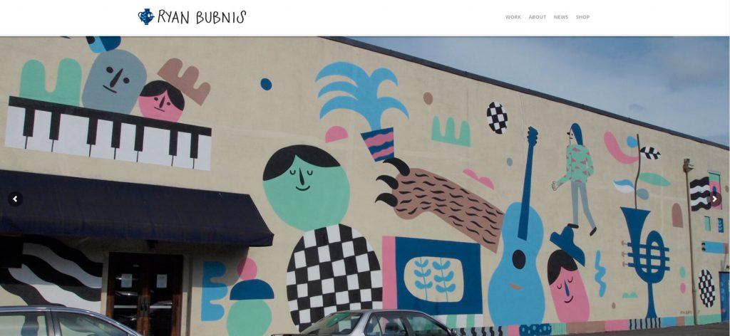 RyanBubnis:美国现代插画作品网