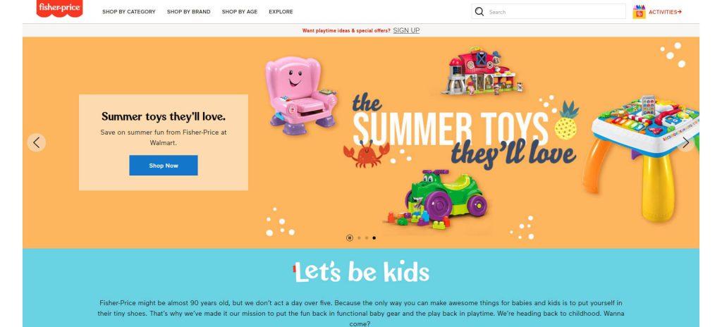 费雪:Fisher-Price美国儿童玩具制造商