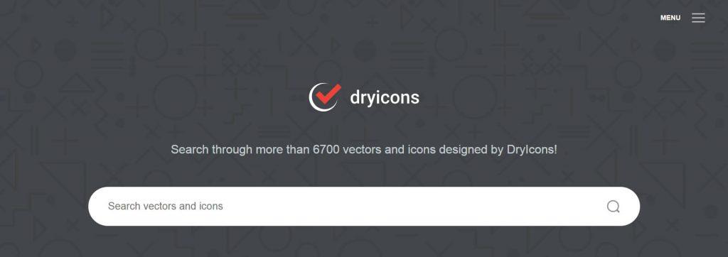DryIcons:免费矢量图标Icon下载