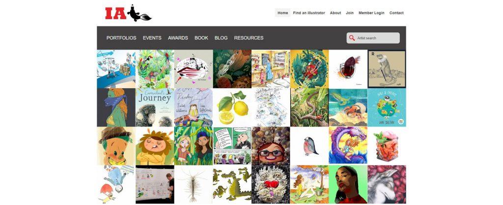Illustrators Australia:IA澳大利亚插画联盟