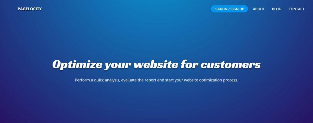 Pagelocity:网站网页性能分析测试