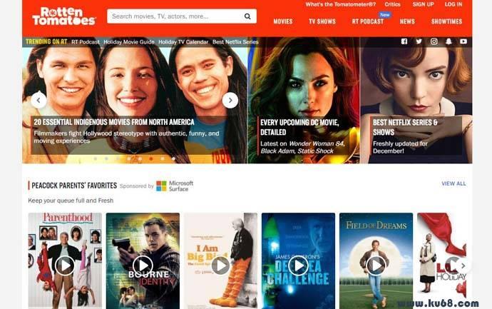 烂番茄:Rotten Tomatoes,美国知名影评网站