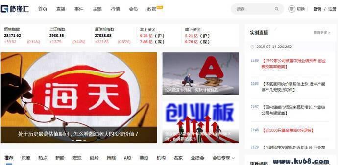 格隆汇:海外投资平台_港股开户行情_科创板股票发行中心