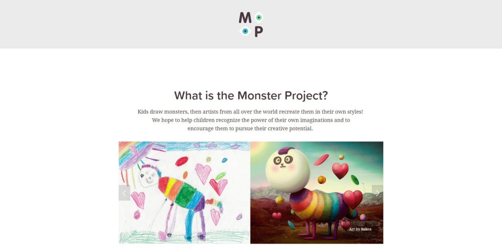 怪物计划:TheMonsterProject儿童插画创作平台