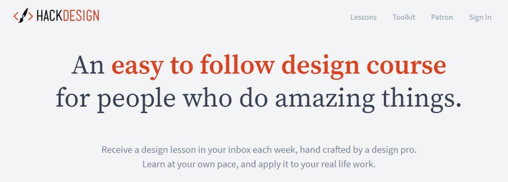 HackDesign:黑客设计教程自学网