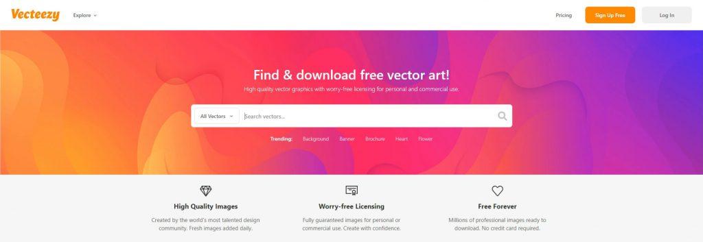 Vecteezy:免费矢量素材模板下载