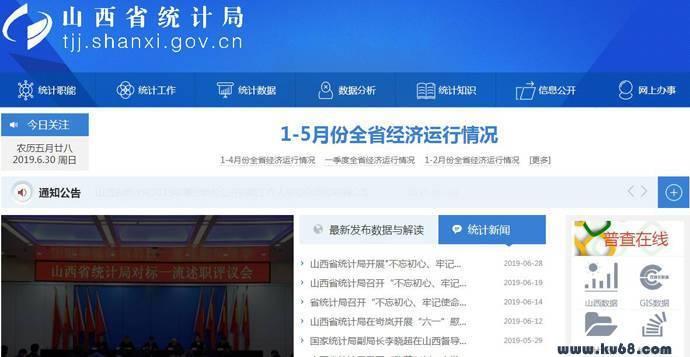 山西省统计局:山西省统计信息网