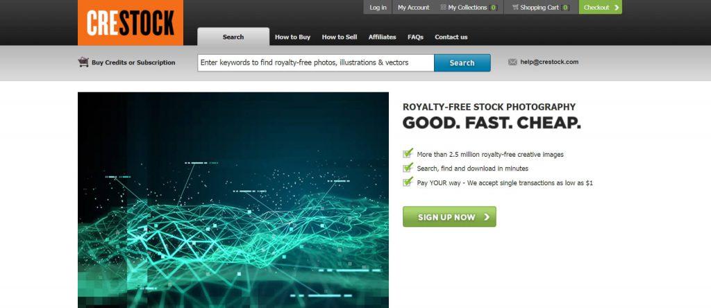 Crestock:全球化的商业图片站点