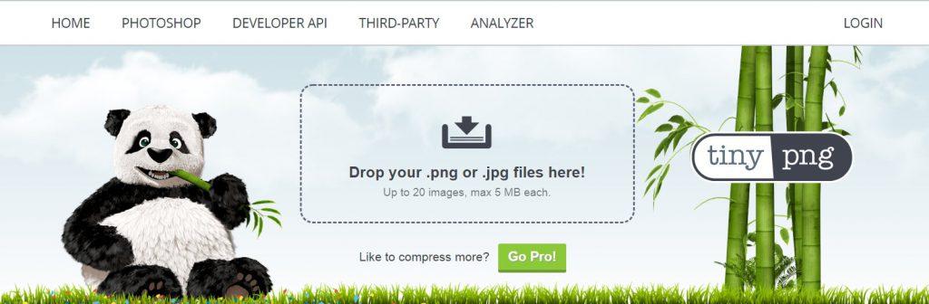 TinyPNG:在线png、jpg图片压缩工具