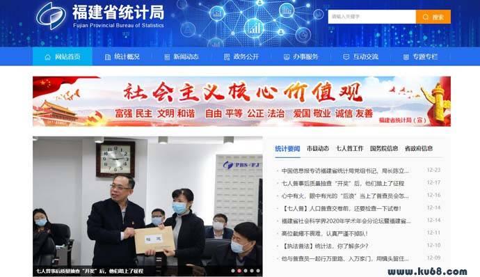 福建省统计局:tjj.fujian.gov.cn