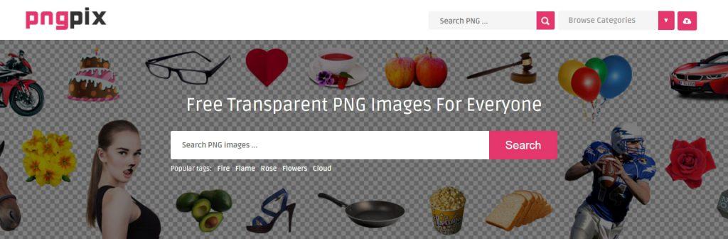 PngPix:免费下载高清免抠PNG素材