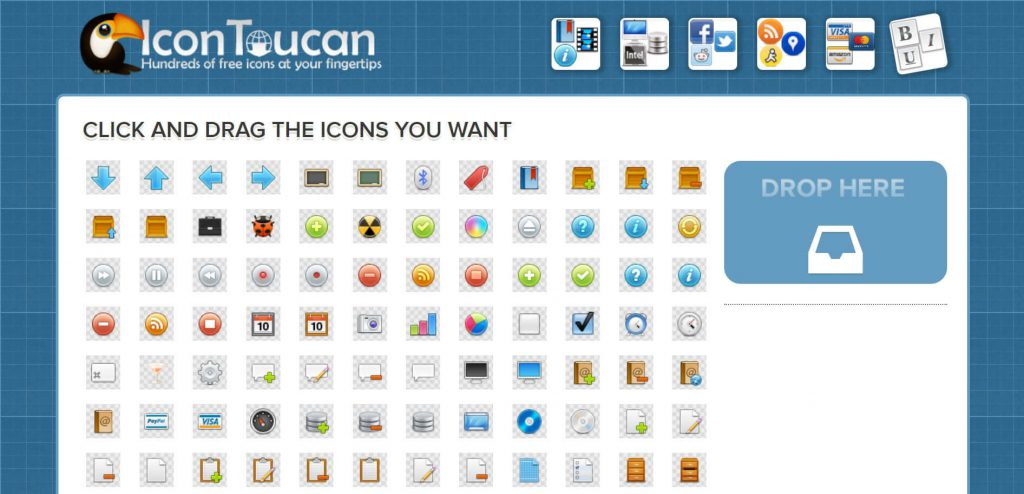 Icon Toucan:免费ICON矢量图标素材