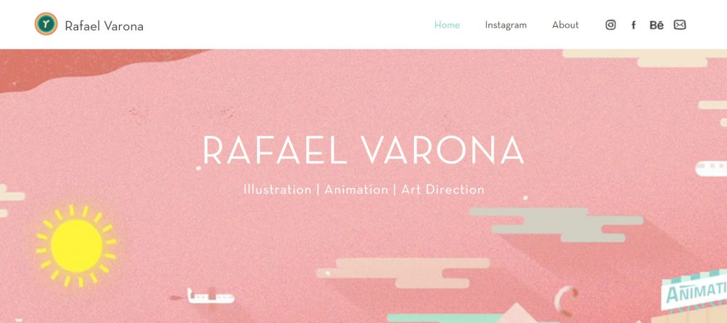 Rafael Varona:魔性动态插画设计作品