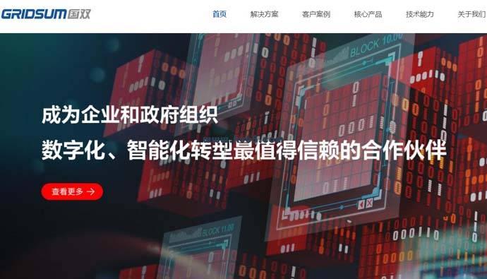 国双科技:企业级大数据和人工智能解决方案提供商
