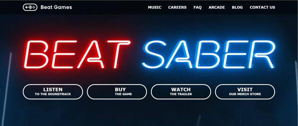Beat Saber:光剑音乐节奏VR游戏