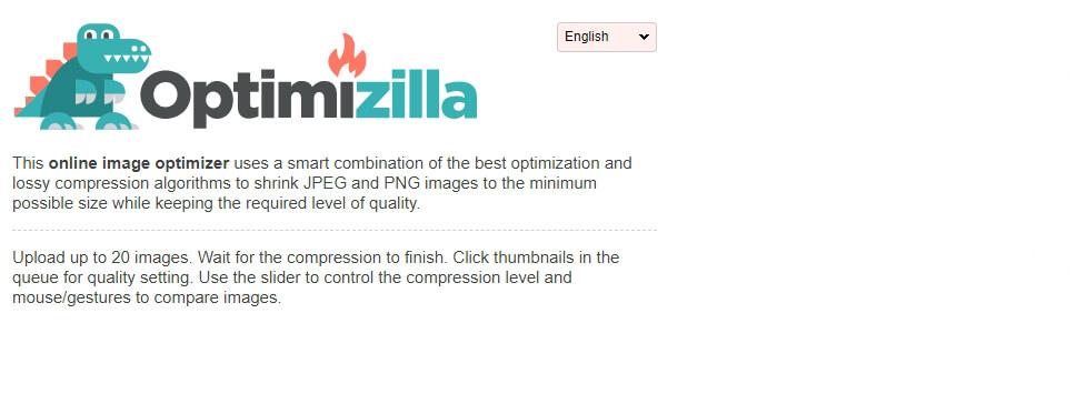 Optimizilla:免费的图片在线压缩工具ImageСompressor